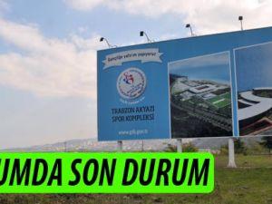Akyazı Spor Kompleksi ve Stadyum İnşaatı Sürüyor.