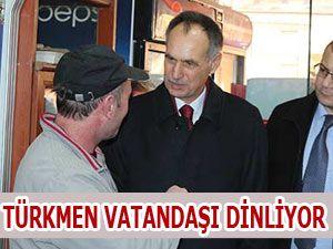 Türkmen Vatandaşı Dinliyor