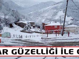 Akçaabat'ta Kar Manzaraları