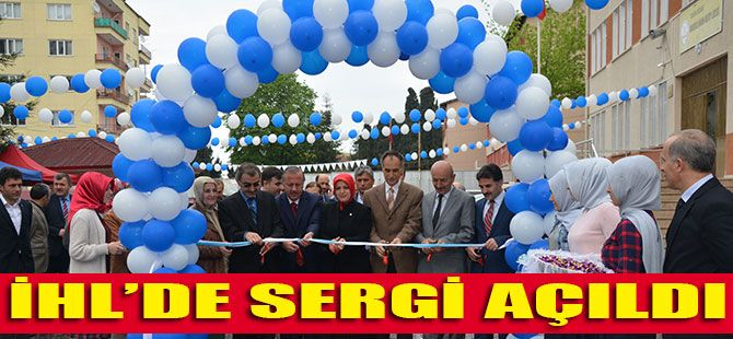 İhl'de Sergi Açıldı