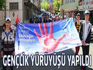 Gençlik Yürüyüşü Yapıldı