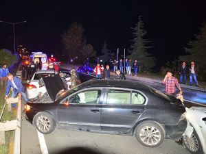 Akyazı'da Trafik Kazası