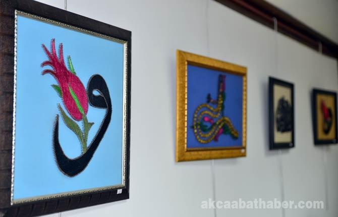 Trabzon'un Akçaabat ilçesinde fiografi sergisi açıldı. galerisi resim 1