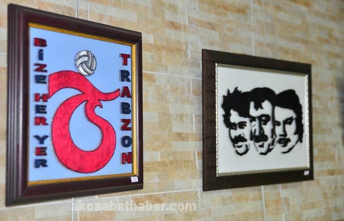 Trabzon'un Akçaabat ilçesinde fiografi sergisi açıldı. galerisi resim 3