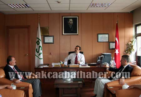 AK Partiden Bürokratik Ziyaret galerisi resim 1