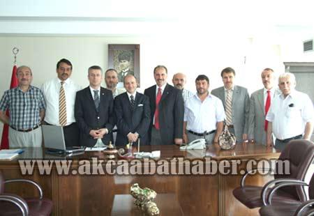 AK Partiden Bürokratik Ziyaret galerisi resim 10