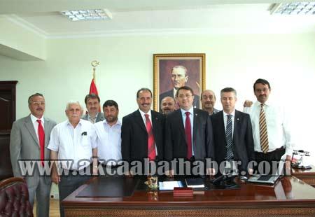 AK Partiden Bürokratik Ziyaret galerisi resim 11