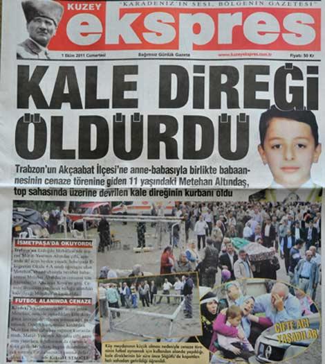 Gazete Manşetleri galerisi resim 1