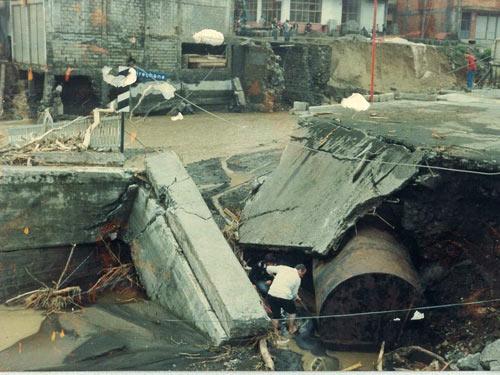 1990 SEL FELAKETİNDEN GÖRÜNTÜLER galerisi resim 19