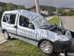 Trafik Kazası, 3 Yaralı Var