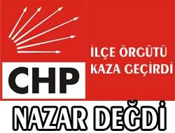CHP Ekibi Kaza Geçirdi