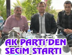 AK Partiden Seçim Startı