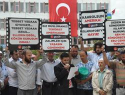 Saadet Gençliğinden Protesto
