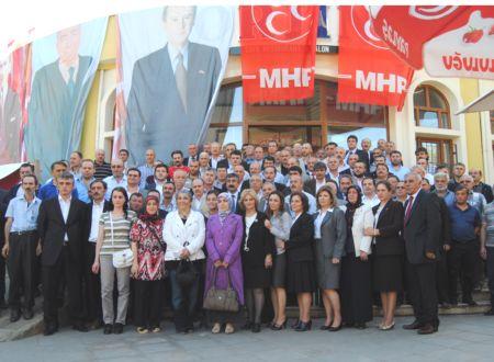 TPden MHPye katıldılar