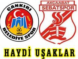 Çankırı 2 - 1 Sebatspor