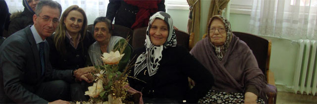 AK Kadınlardan Ziyaret