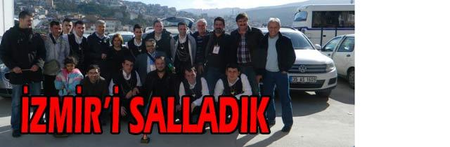 İzmirde Trabzon Rüzgarı
