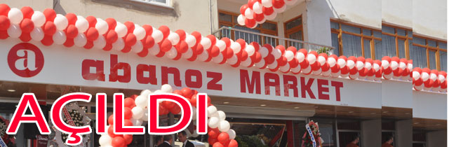Abanoz Market Açıldı