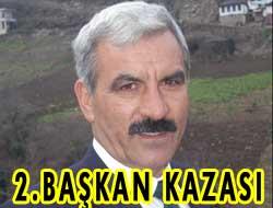 Doğanköy Başkanı Kaza yaptı