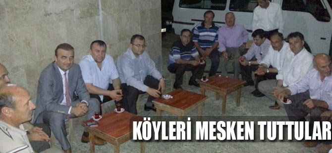 AK Parti Köylerde