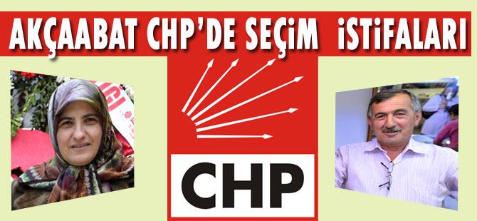 CHP'de İki isim istifa etti.