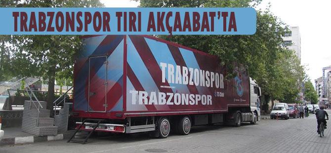 Trabzonspor Tırı 3 gün boyunca Akçaabat'ta olacak.