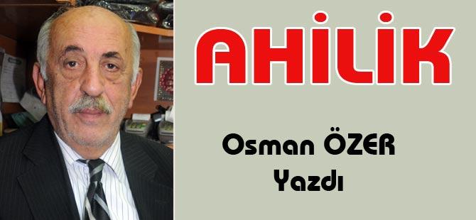 Eski TESKOMB Yönetim Kurulu Üyesi Osman Özer yazdı