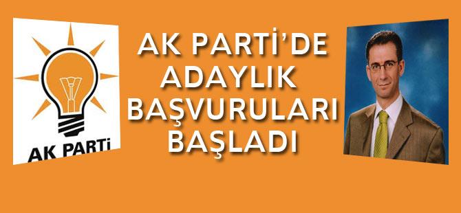 AK Parti'de Adaylık Başvuruları Başladı