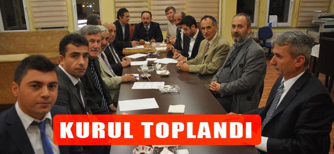 Kültür ve Araştırma Kurulu Ekim ayı toplantısını gerçekleştirdi.