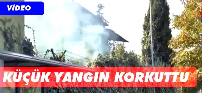 Yangın İhbarı vatandaşları tedirgin etti.