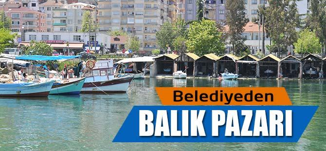 Belediyeden Balık Pazarı