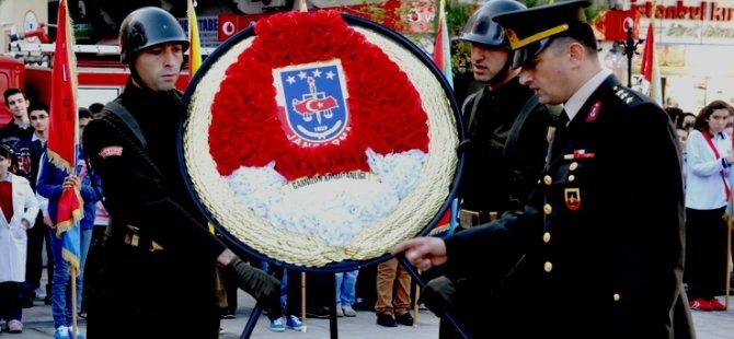 Atatürk'ün vefatının 75. yılı nedeniyleAkçaabat'ta anma töreni düzenlendi