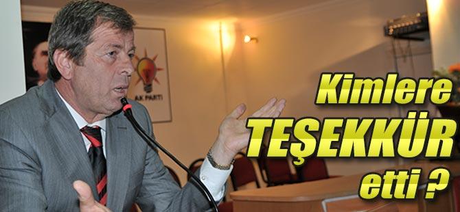 AK Parti Akçaabat Belediye Başkan Aday Adayı Osman Karaçukur, parti teşkilatına teşekkür etti.