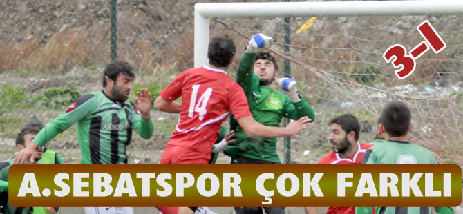 A.Sebatspor Play-Off Aşkına 3-1