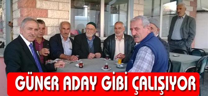 Ahmet Güner Başkan Adayı Gibi çalışıyor