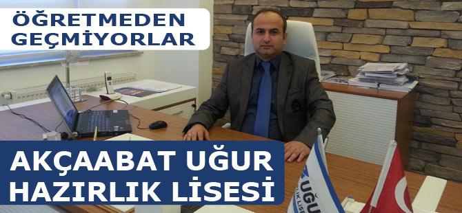 Türkiye ve Akçaabat yepyeni bir okulla tanıştı: Uğur Hazırlık Liseleri