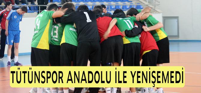 Tütünspor Anadolu Üniversitesi İle Yenişemedi 25-25