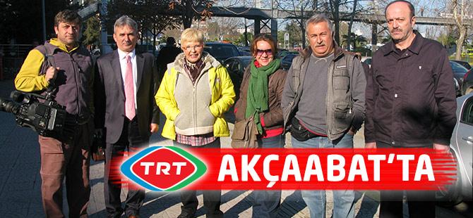 TRT Akçaabat'ta