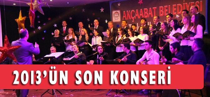 Akçaabat Belediye Korosun'ndan konser