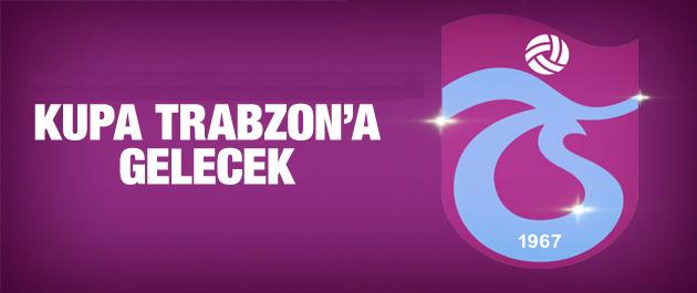 2010-11 şampiyonluk kupasının Trabzonspor'a