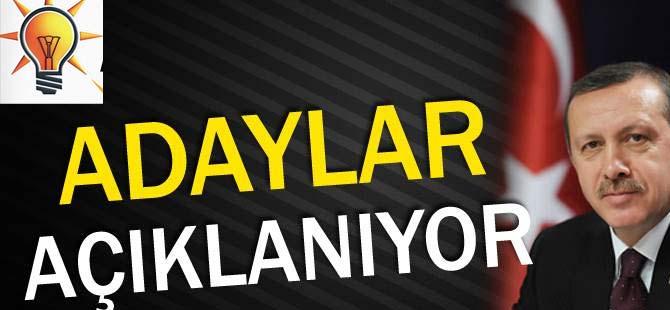 AK Parti'nin Adayları Açıklanıyor