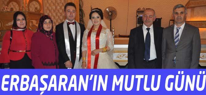 Akçaabat Belediye Meclisi Üyesi Engin Erbaşaran kızını evlendirdi