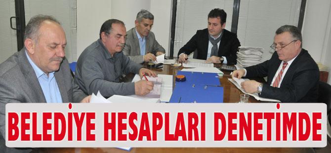 Akçaabat Belediye hesapları oluşturulan komisyon ile denetleniyor.