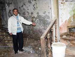 Orta Mahallede izinsiz kazı