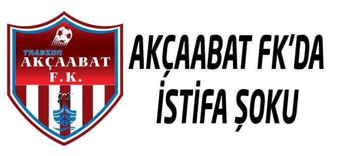 Akçaabat FK'da 3 istifa var