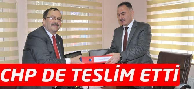 Akçaabat CHP İlçe Seçim Kuruluna Listeleri Teslim Etti.