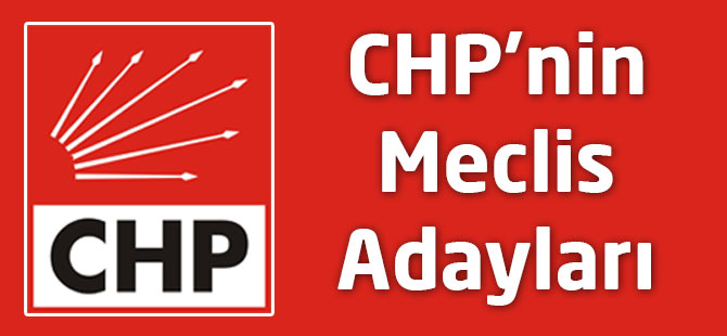 Akçaabat CHP'nin Meclis Listesi