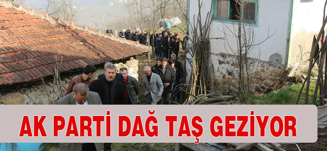 AK Parti Beldelerde Çalışıyor.