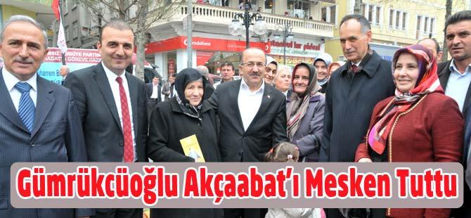 Gümrükçüoğlu Akçaabat'ı Mesken Tuttu.