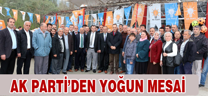 Türkmen Darıca, Osmanbaba ve Demirci'de vatandaşlara hitap etti